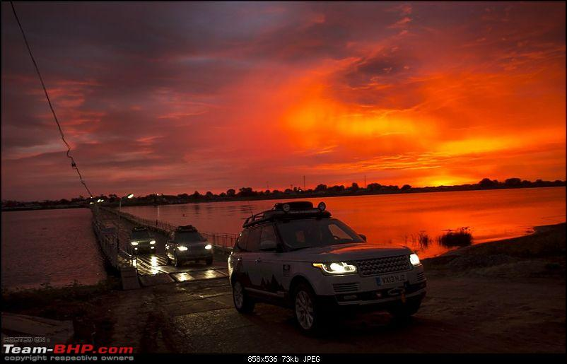Range Rover Hybrids trek to India - The Silk Trail 2013-volga-river.jpg