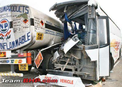 Nov '13: Another Volvo Bus catches fire  7 dead! - Page 6