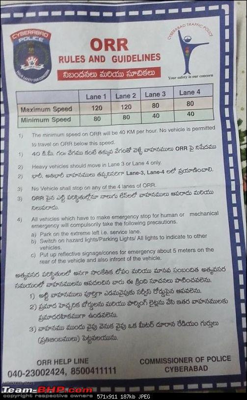 Hyderabad: Updates on traffic - diversions, road expansions, alternate routes, etc.-20140226_002020.jpg