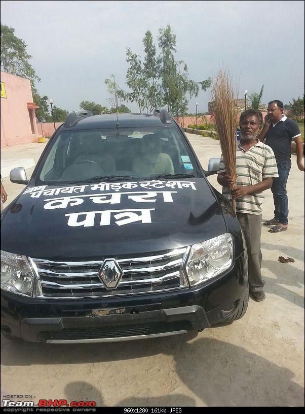 Fed up with problems, businessman donates his Duster for carrying garbage-img20150312wa0007.jpg