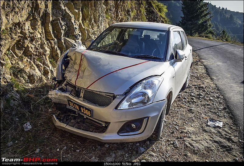 Bitter experience with Myles Cars - An accident & the ensuing nightmare-damaged-swift.jpg