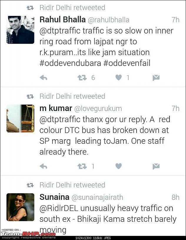 Delhi: Odd & Even numbered cars to drive on alternate days *Edit: Round 2 from April 15th*-1461074952357.jpg