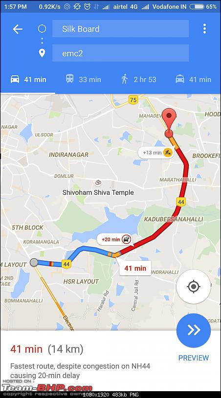 Rants on Bangalore's traffic situation-screenshot_20160726135756_com.google.android.apps.maps.png