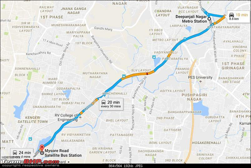 Rants on Bangalore's traffic situation-mysore-road.jpg