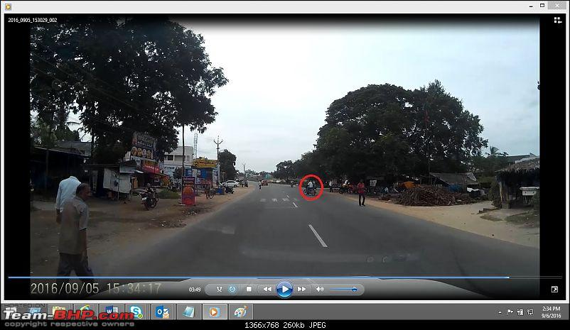 Small accident while returning from Pondicherry; saved by Dashcam-ranipetaccident2.jpg