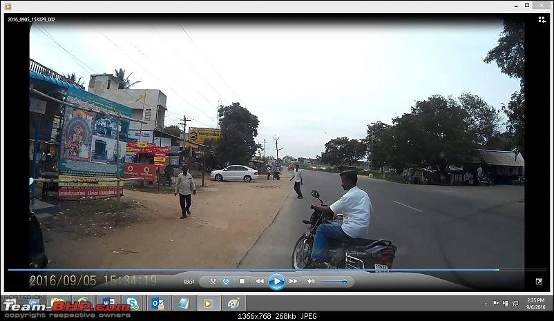 Small accident while returning from Pondicherry; saved by Dashcam-ranipetaccident4.jpg