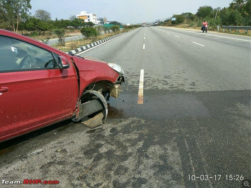 God's Grace! Seatbelts, child seat & safe car - An accident survivor's tale-img_20170310_152652.jpg