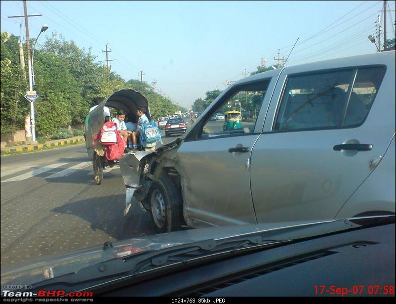 Pics: Accidents in India-swift-acc.jpg