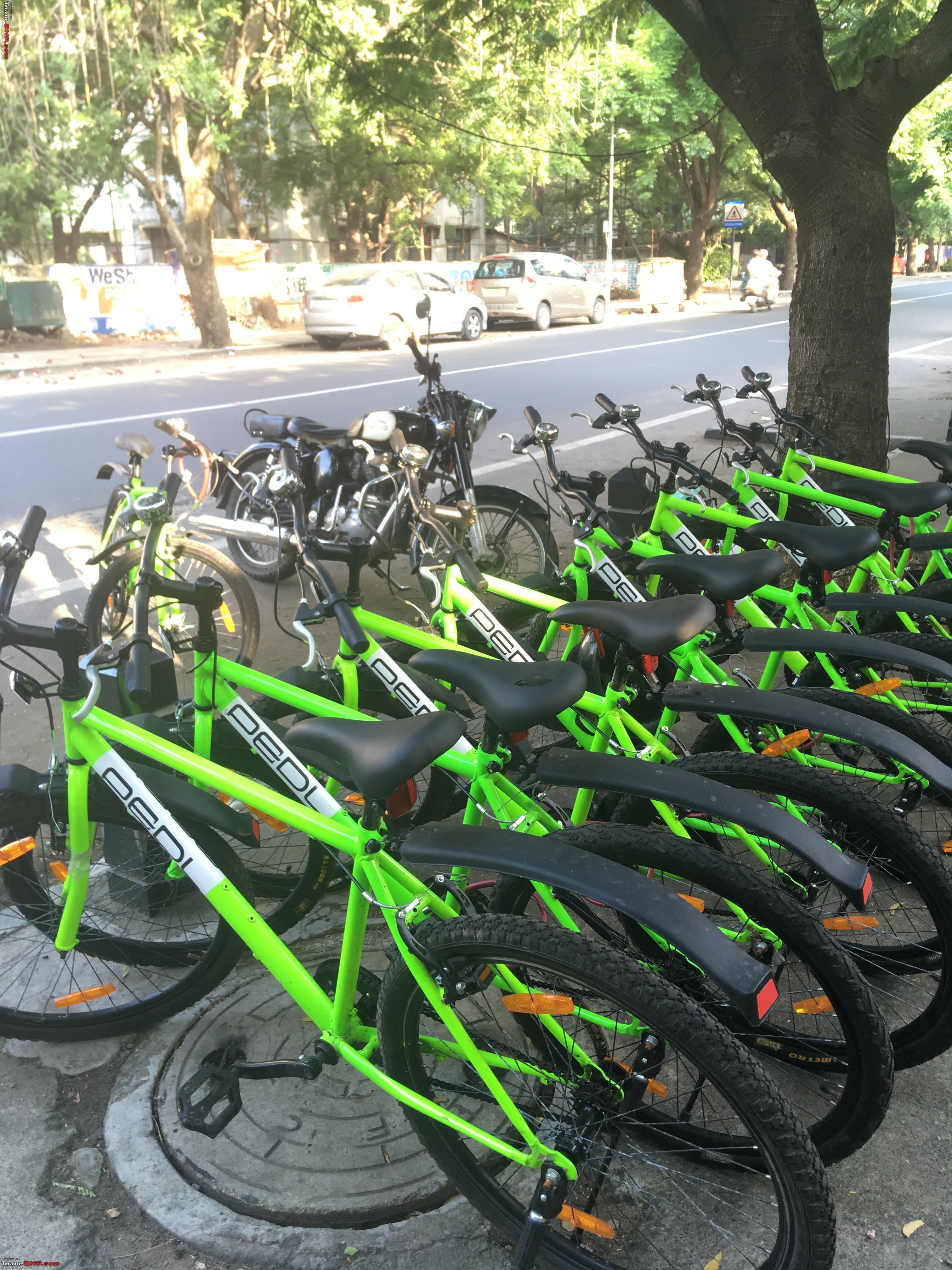 Zoomcar Launches Pedl A Cycle Sharing Service Team Bhp