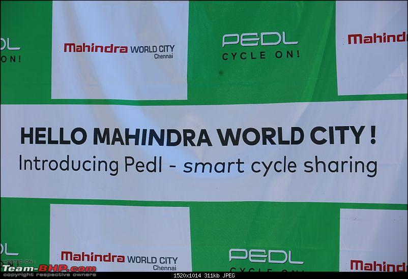 Zoomcar launches PEDL - a cycle sharing service-mahindra-world-city-chennai-introduces-pedl.jpg