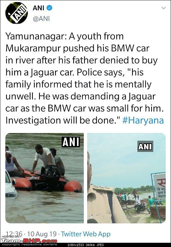 Son pushes gifted BMW into river. Reason? He wanted a Jaguar!-screenshot_20190810132758__01.jpg