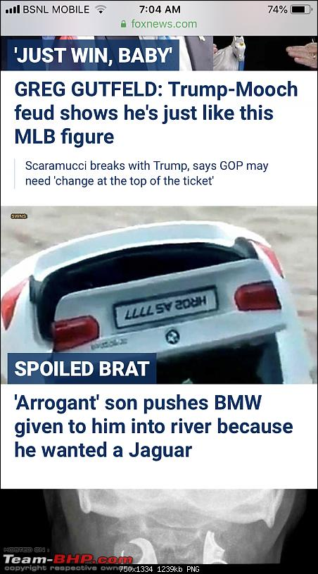 Son pushes gifted BMW into river. Reason? He wanted a Jaguar!-0c4bca442c614791b28be061c560d596.png
