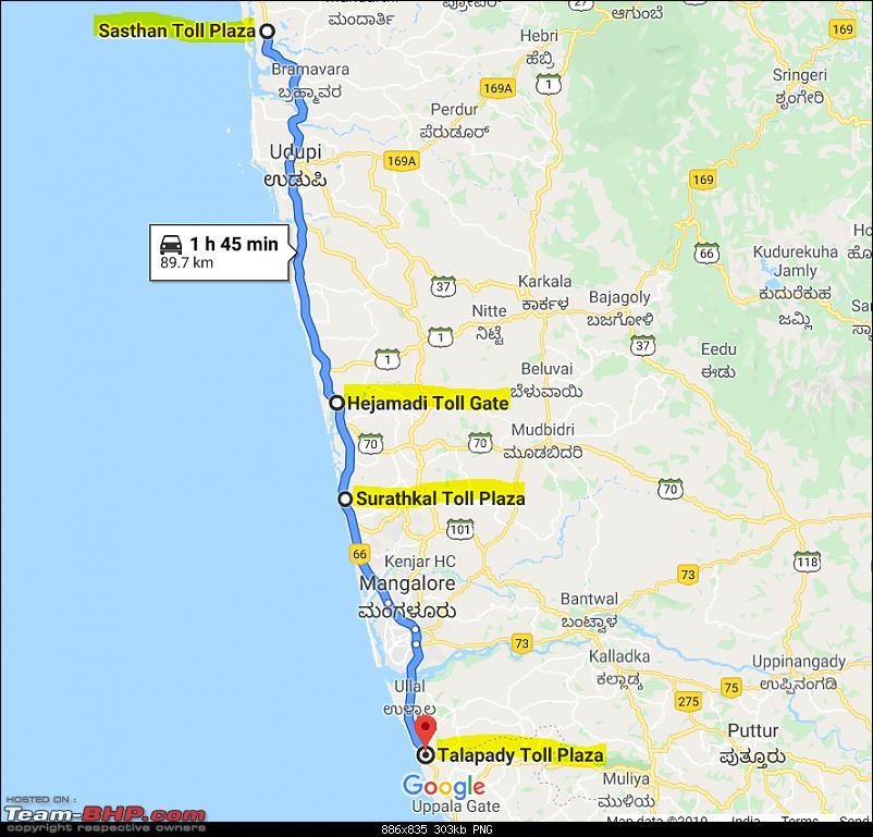 Illegal / unofficial toll plaza at Surathkal (NH66)? EDIT: There's more-nh-66-toll-booth.png