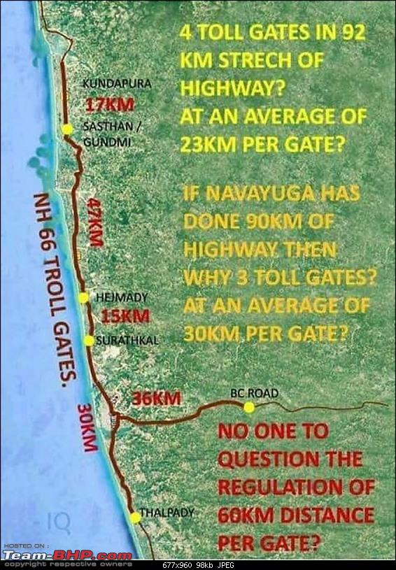 Illegal / unofficial toll plaza at Surathkal (NH66)? EDIT: There's more-nh66-tolls.jpg