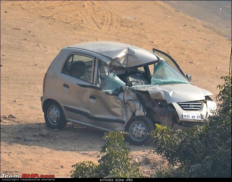 Pics: Accidents in India-santro.jpg