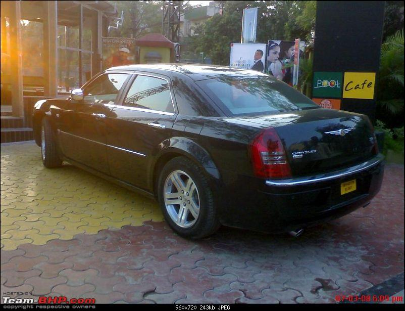 spotted Chrysler 300c in Pune-c2jx0.jpg