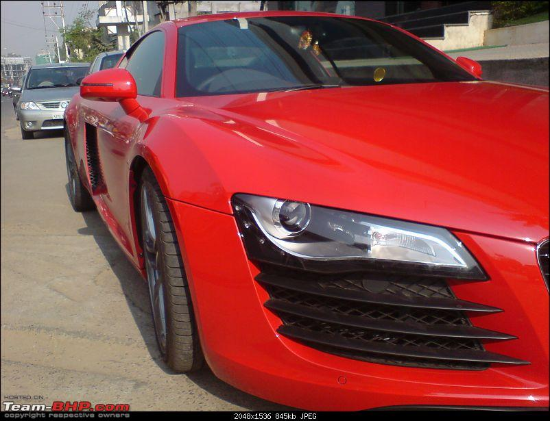 Red Audi R8 Seen In Hyderabad.-dsc01503.jpg