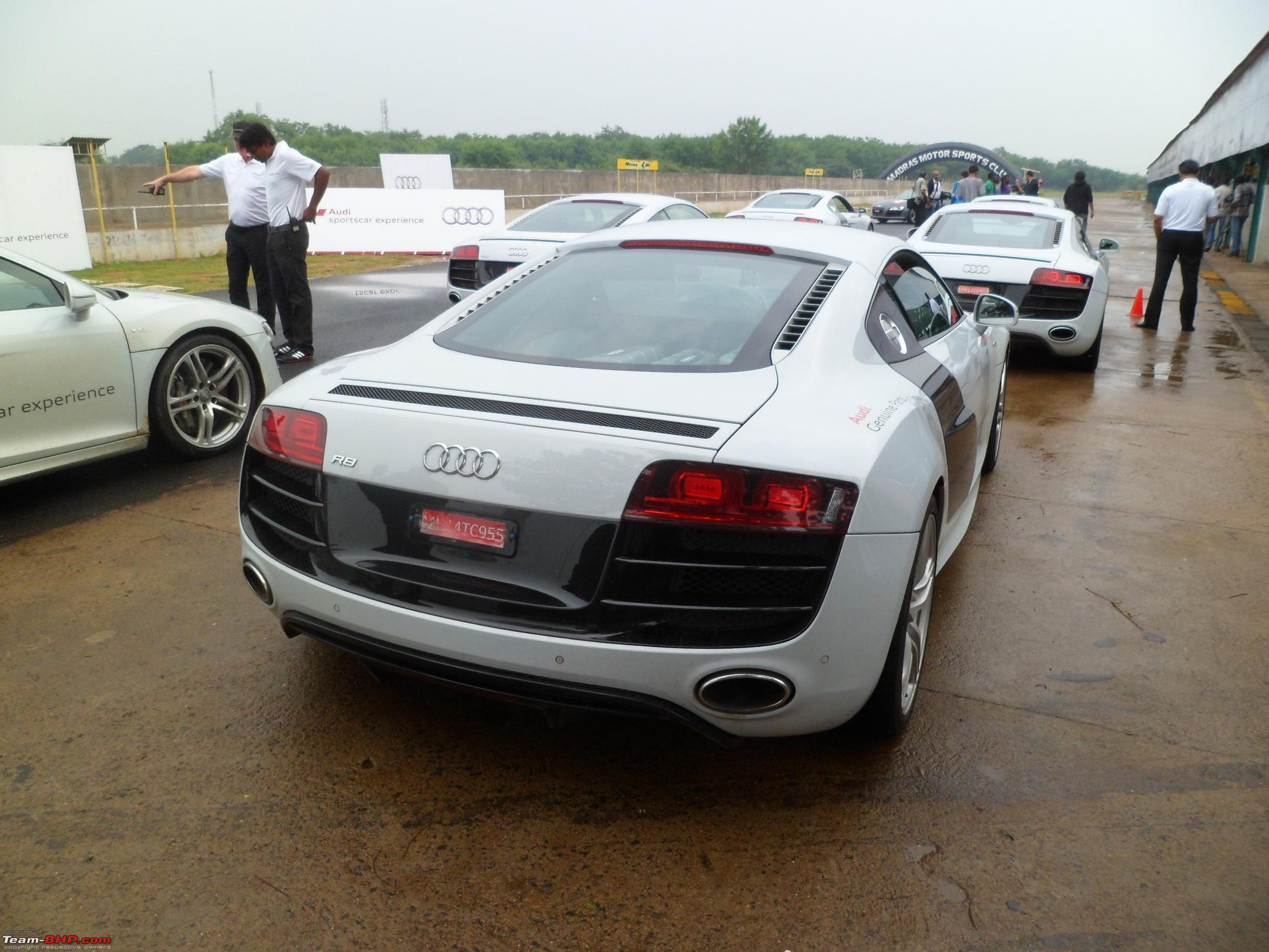 My Audi Sportscar Experience At Mmsc Chennai Team Bhp