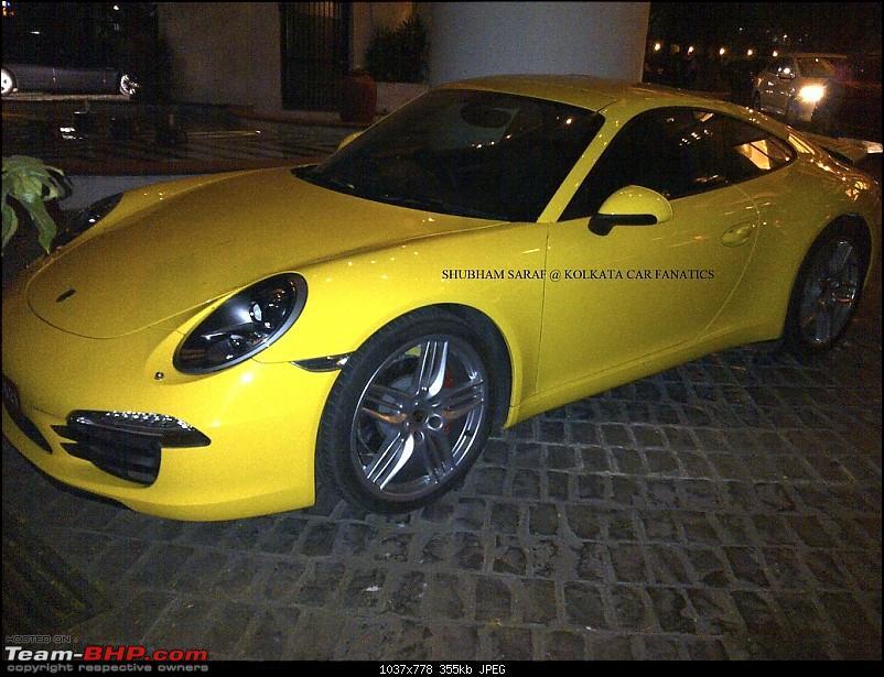Supercars & Imports : Kolkata-porsche-911-6.jpg
