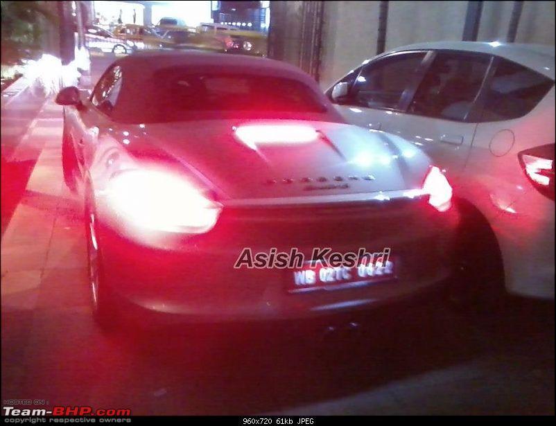 Supercars & Imports : Kolkata-porsche-boxster-1.jpg