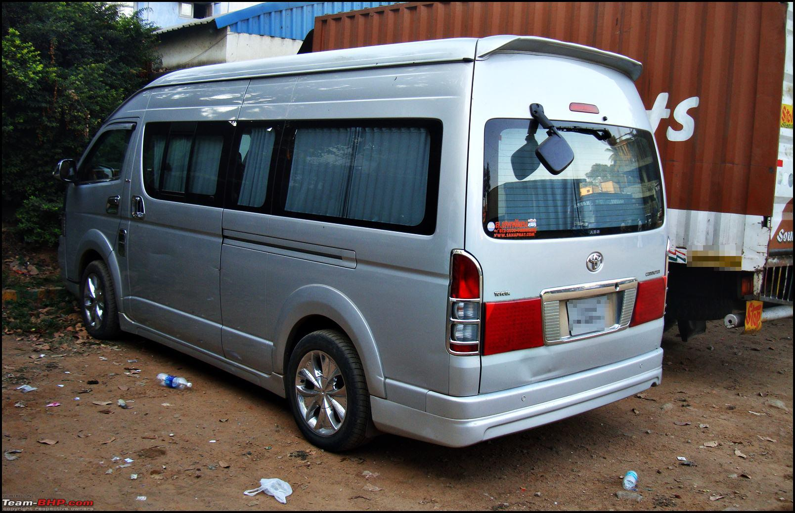 The Godfather of all People Carriers - Toyota Hiace
