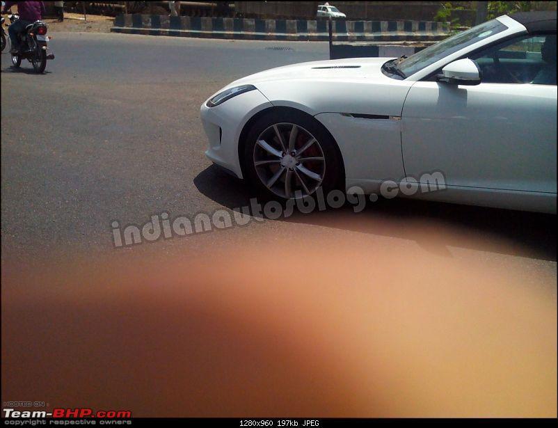 Scoop: Jaguar F-Type spotted in Pune!-jaguarftypespiedinindianose.jpg