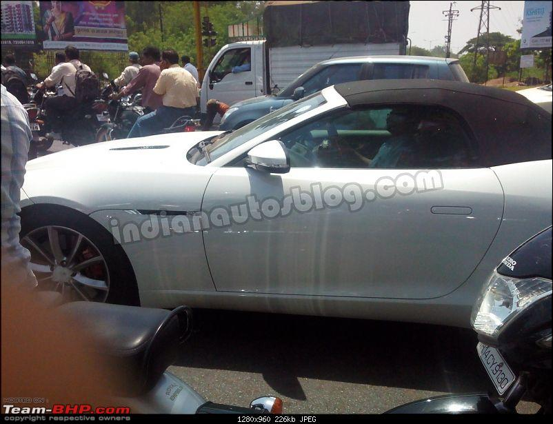 Scoop: Jaguar F-Type spotted in Pune!-jaguarftypespiedinindiaside.jpg