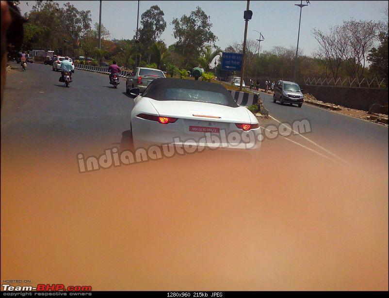 Scoop: Jaguar F-Type spotted in Pune!-jaguarftypespiedinindiarear.jpg
