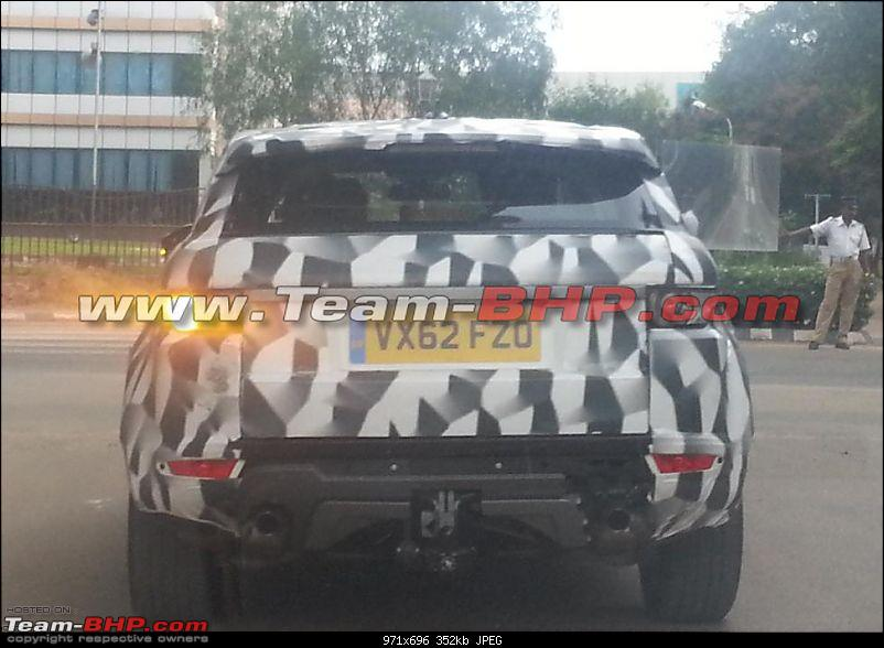 Scoop - Range Rover Evoque XL spotted on test in India-w1.jpg