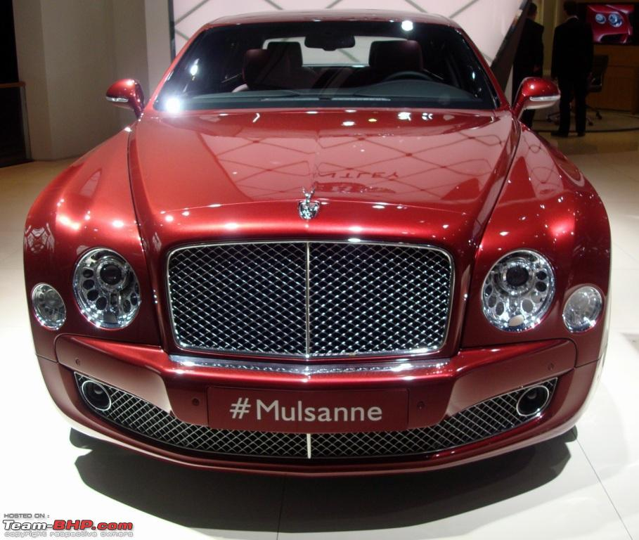 Bentley Lines Up Mulsanne, Continental GT V8 And EXP 9 F