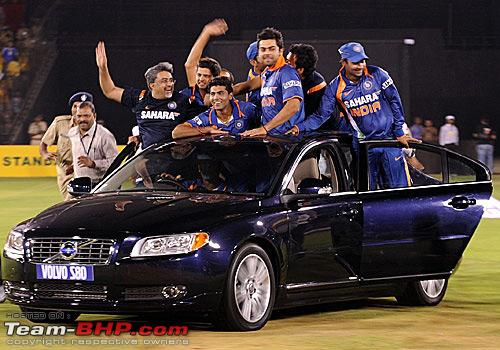 Who Owns Volvo >> Team-BHP - Cricket Stars and their cars