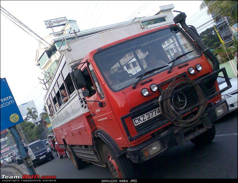 Supercars & Imports : Kerala-merc-lorry.jpg
