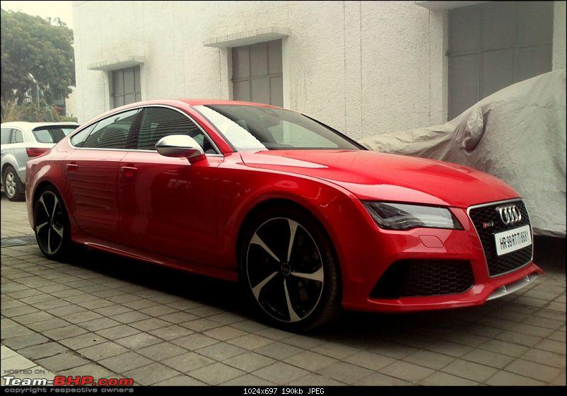 Supercars & Imports : Delhi-rs7-red.jpg