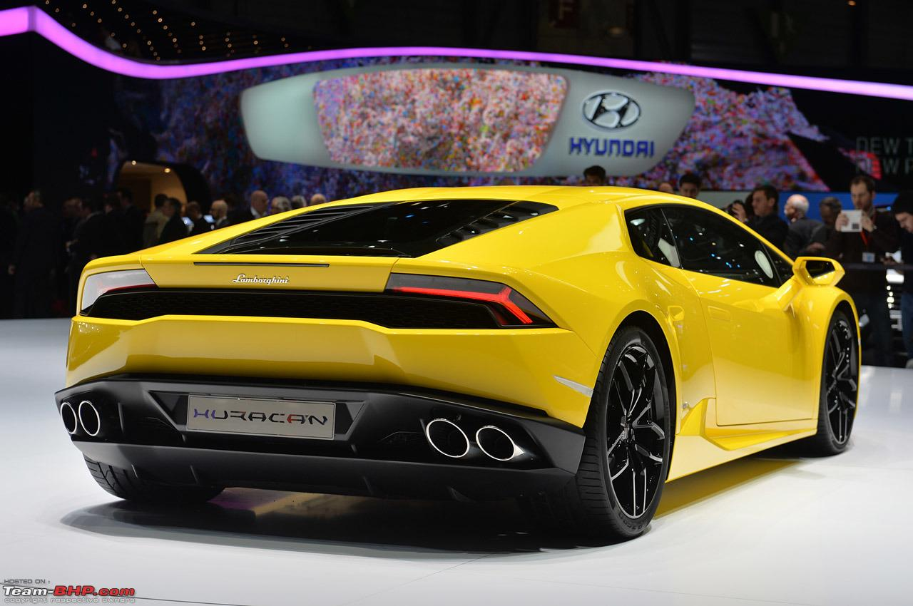 Lamborghini Huracan To Be Showcased In India March 2014 Team Bhp