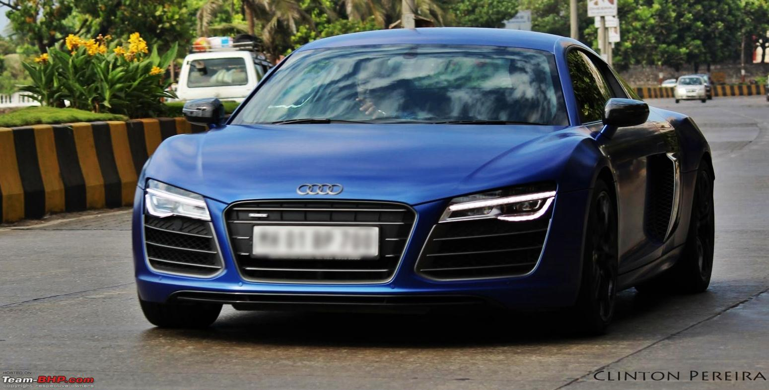 Pics Audi R8 In Mumbai Amp One In Delhi As Well Page