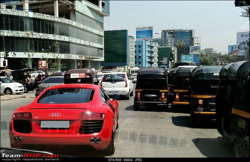 Pics : Audi R8 in Mumbai & one in Delhi as well !-audir8.jpg