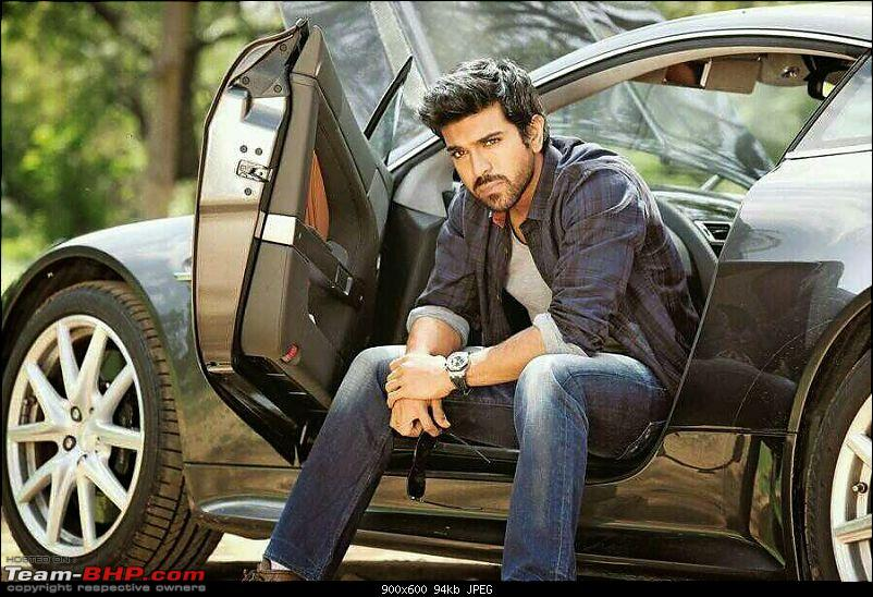 South Indian Movie stars and their cars-ramcharanbagged15crores.jpeg