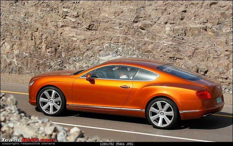Supercars & Imports : Pune-2012-bentley-continental-gt-side-view.jpg