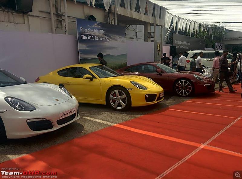 PICS: Supercar Festival 2014, Kolkata-porsche-line-up-2.jpg