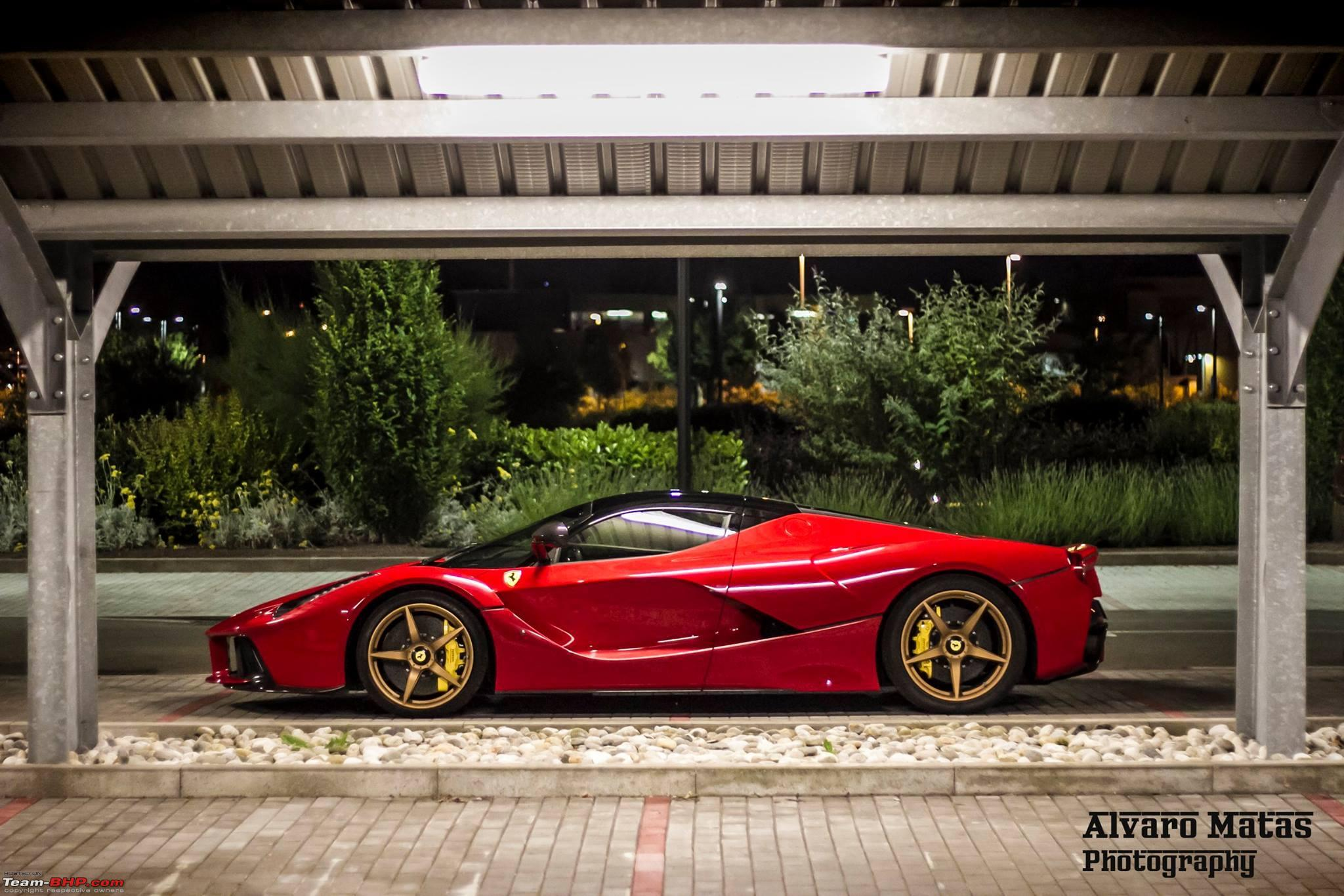 LaFerrari in India? YES here it is! (Pics on Page 4) - Team-BHP
