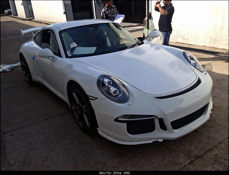 Porsche 911 GT3 in India-10719451_10154693164760389_1377639636_n.jpg