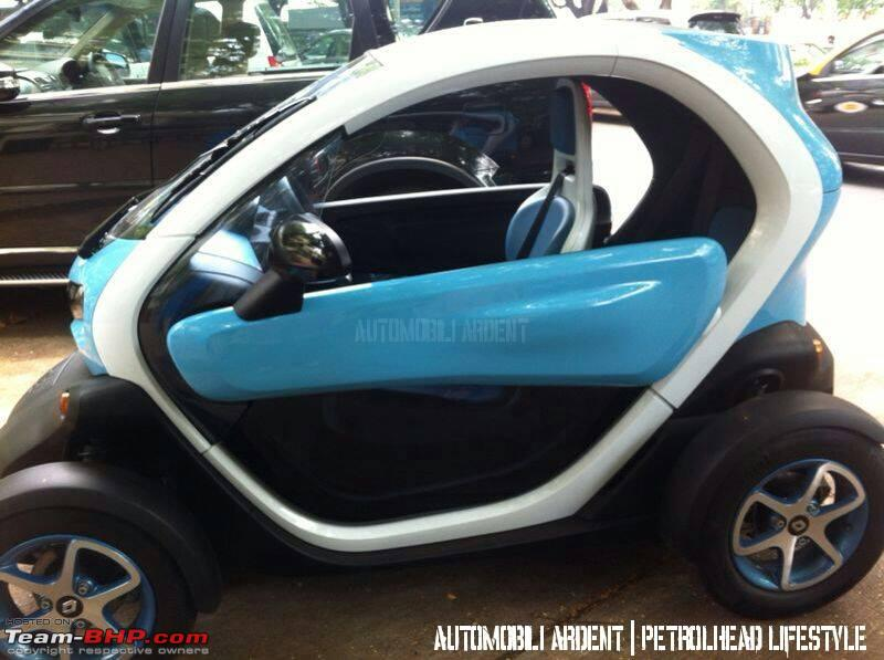 Renault Twizy In India Team Bhp