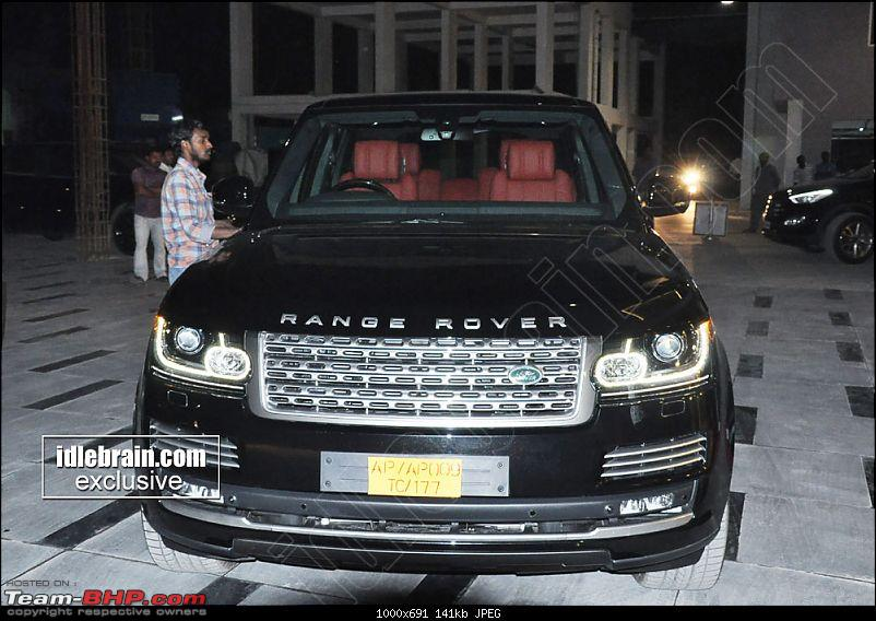 South Indian Movie stars and their cars-ramcharanrangerover2.jpg