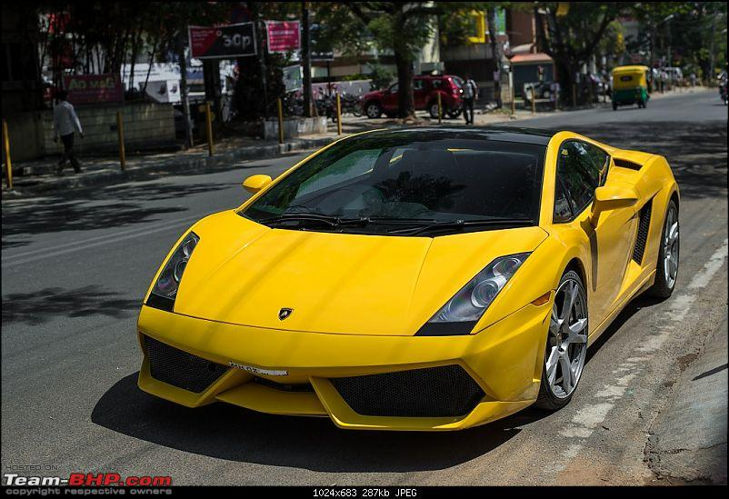 Supercars & Imports : Bangalore-gallardo-80ft-road.jpg