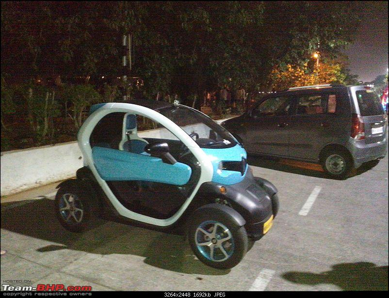 renault twizy in india page 2 team bhp. Black Bedroom Furniture Sets. Home Design Ideas