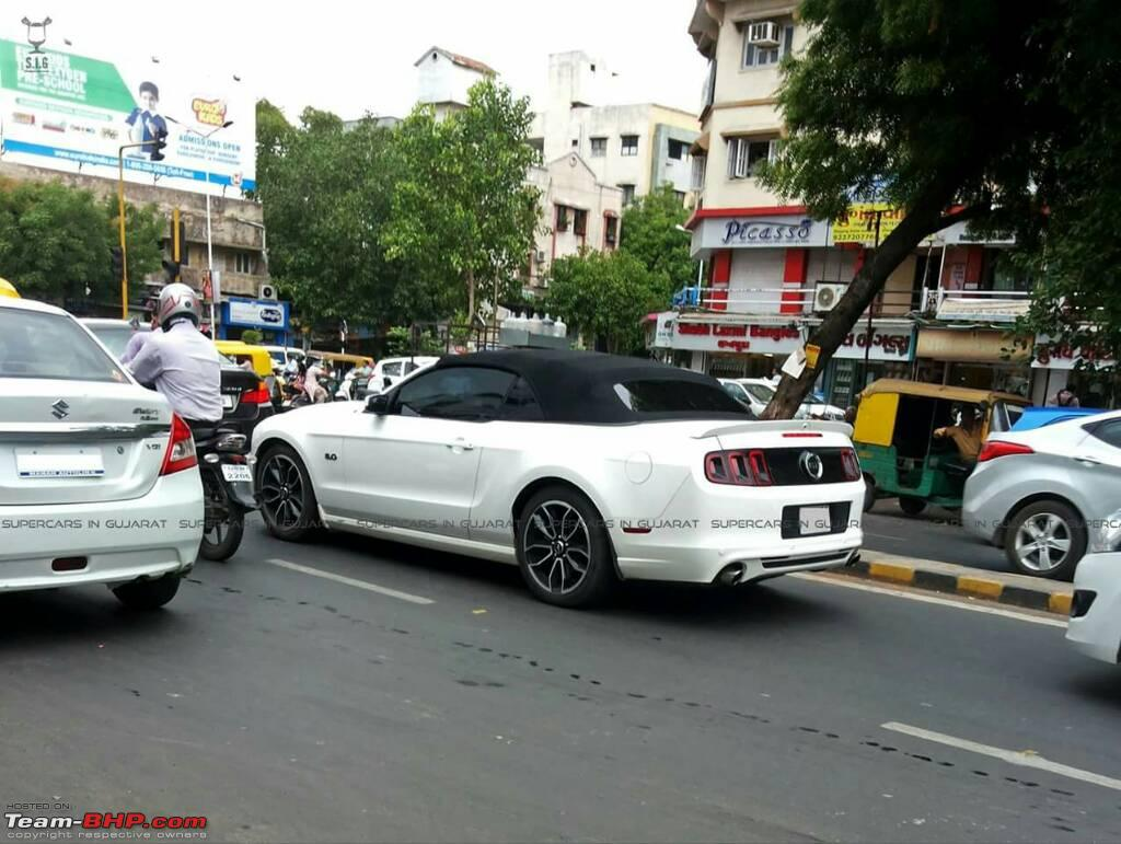 Ford Mustang Shelby Gt500 India