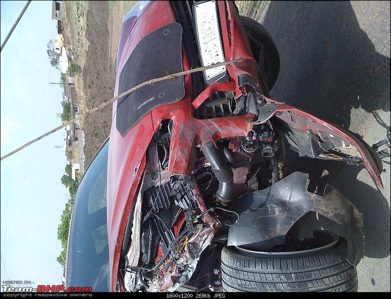 Supercar & Import Crashes in India-cayenne4.jpg
