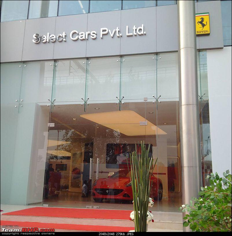 Ferrari officially re-enters India; appoints dealers in New Delhi and Mumbai EDIT: prices revealed-12304439_10153413511489563_2951387092321414975_o.jpg