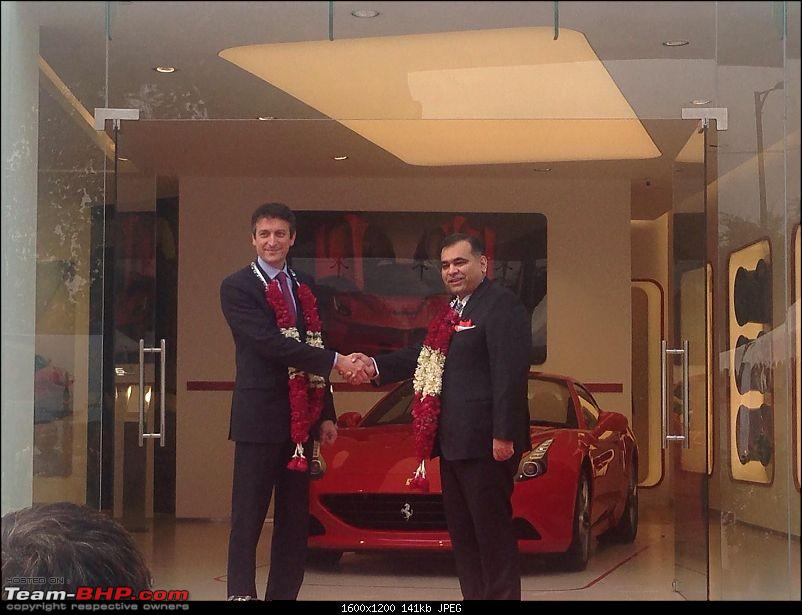 Ferrari officially re-enters India; appoints dealers in New Delhi and Mumbai EDIT: prices revealed-12314246_10153413511729563_6202279049752740026_o.jpg