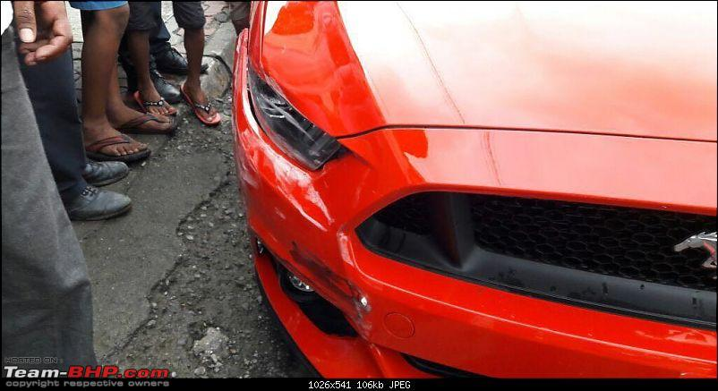 Supercar & Import Crashes in India-fordmustangcrashmumbaie1468500885501.jpg